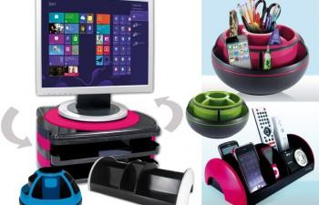Orden y diseño sobre el escritorio