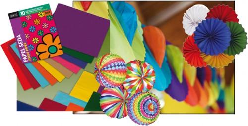 Guirnaldas y adornos de papel para un ambiente festivo | La Papelería