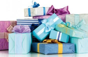 La alegría se envuelve en papel de regalo