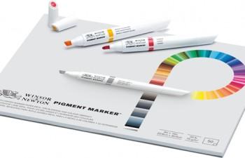 Nuevo rotulador de pigmento Winsor & Newton Pigment Marker
