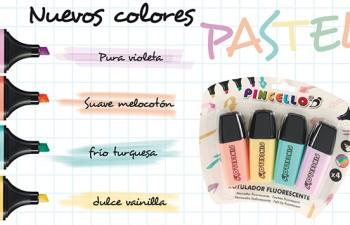 Pincello presenta cuatro nuevas tonalidades en su colección de marcadores