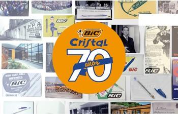 BIC celebra el 70 aniversario de su icónico BIC® Cristal