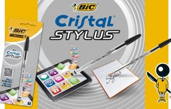 El BIC® Cristal de siempre ahora también para tabletas y smartphones