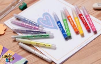 BIC® Kids te ayuda a potenciar la creatividad de tus niños durante la navidad