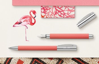 Brillantemente exótico: Ambition OpArt Flamingo