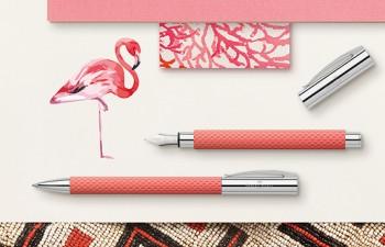 Brillantemente exótico: Ambition OpArt Flamingo