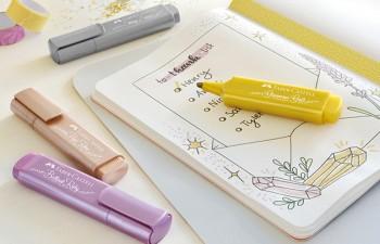 Destaca tus ideas: Textliner metálicos para toques brillantes