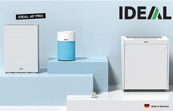 IDEAL: purificadores de aire de alto rendimiento