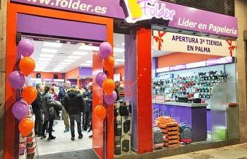 Nueva apertura de un establecimiento Folder en Mallorca