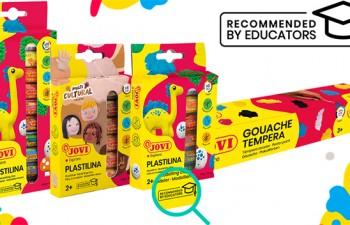 JOVI presenta su nuevo sello Recommended by Educators