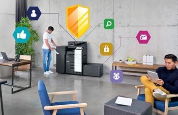 Las impresoras multifunción de Konica Minolta superan los estándares de la industria para el cumplimiento de la ciberseguridad