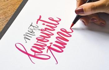 EL lettering: un hobby y una profesión de moda