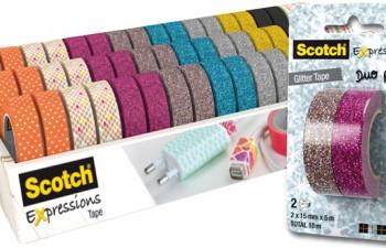 Scotch® de 3M: una increíble gama de cintas para personalizar regalos