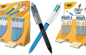 Familia 4 Colores® de Bic, una gama que se adapta a todos los gustos