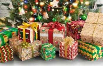 Papel de regalo para una Navidad eco-friendly