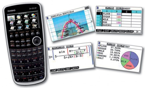 calculadora gr fica casio fx cg20 con pantalla lcd en. Black Bedroom Furniture Sets. Home Design Ideas