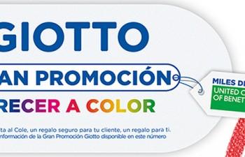 Gran promoción de Giotto, la nueva propuesta de Fila