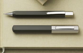 Ondoro castaño resina con acabado mate de Faber-Castell