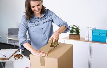 Embalajes seguros con cintas de embalaje tesa®