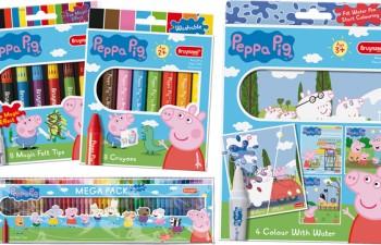 Talens comercializa Peppa Pig by Bruynzeel