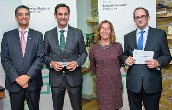 Tech Data, reconocido como Mayorista del Año en España por Hewlett Packard Enterprise
