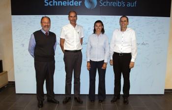 Molin, nuevo distribuidor de la marca de escritura Schneider